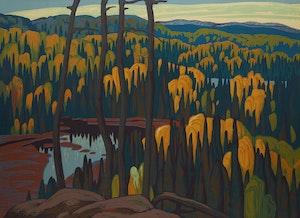 Artwork by Lawren Stewart Harris, Algoma Country
