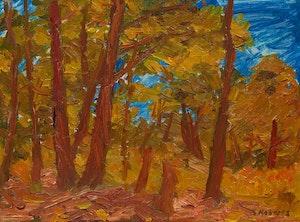 Artwork by William Goodridge Roberts, Landscape