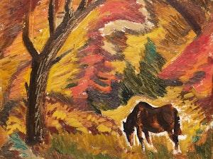 Artwork by Jack Hamilton Bush, The Horse