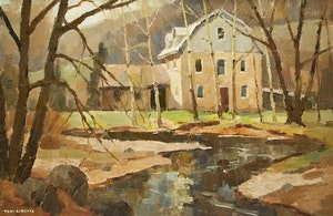 Artwork by Thomas Keith Roberts, Lowville