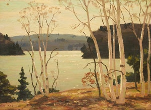 Artwork by George Thomson, The Birch Screen (Lake of Bays)