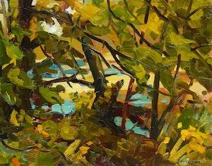 Artwork by Armand Tatossian, Summer Greens