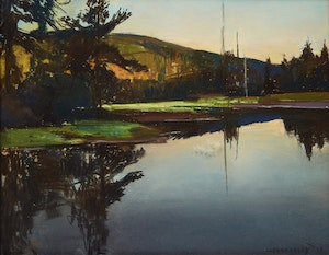 Artwork by Frank Charles Hennessey, Reflections