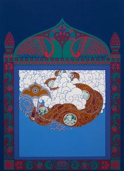 Artwork by Romain de Tirtoff (Erté), The Tempest
