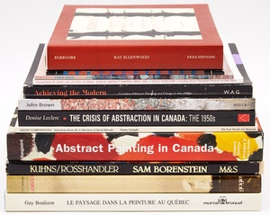 Artwork by  Books and Reference, Twelve Canadian Art Reference Books