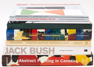 Artwork by  Books and Reference, Eight Canadian Art Reference Books (Including Bush, Gagnon, Town, Cahen, among others)