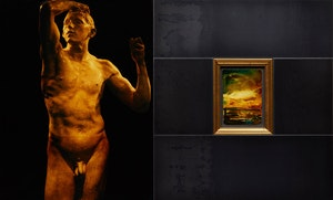 Artwork by David Bierk, Requiem for Life, to Earth and Rodin