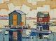 Thumbnail of Artwork by Yvon Breton,  Cabanes Flottantes