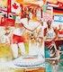 Thumbnail of Artwork by Will Davies,  1976 Summer Olympics Illustration