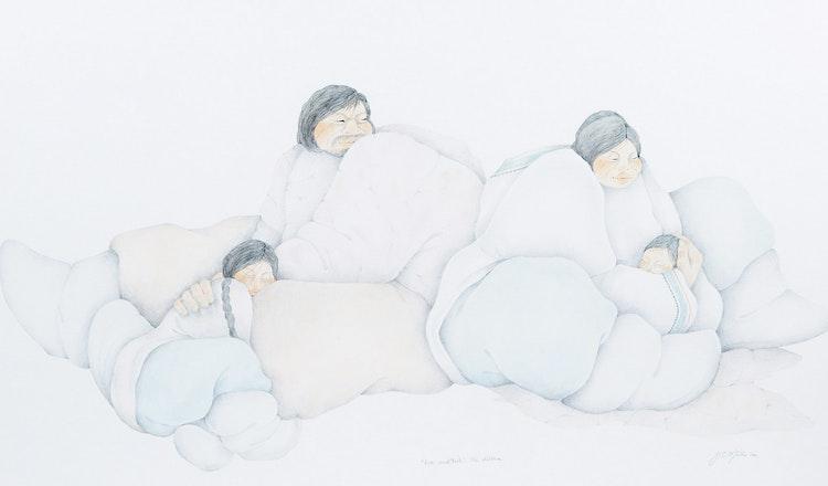 Artwork by Judith Mills,  Kon Neek Toik- The Children