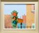 Thumbnail of Artwork by Léopol Bourjoi,  Mon quartier feu rouge