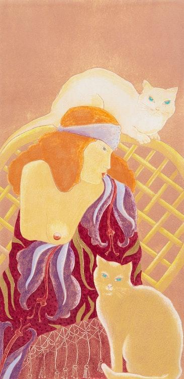 Artwork by Pierrette Lambert,  Les séductions