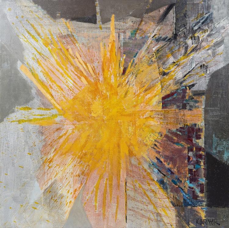 Artwork by John Michael Anthony Koerner (Korner),  Compass Rose (2)