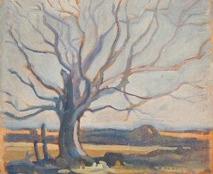 Artwork by Gerald Milne Moses, Four Landscape Studies