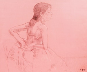 Artwork by Francois Gall, Ballerina