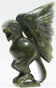 Artwork by Kumakuluk Saggiak, Falcon