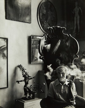 Artwork by Arnold Newman, Max Ernst