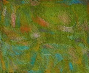 Artwork by Mario Merola, Two Abstract Works