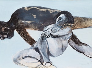 Artwork by Ghitta Caiserman-Roth, Two Nudes