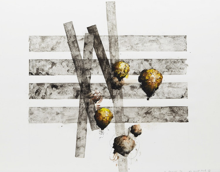 Artwork by Kevin Sonmor,  The Small Push