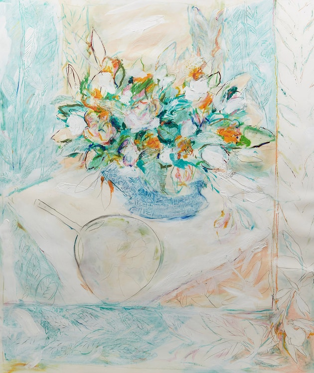 Artwork by Brian Marshall Schieder,  Floral Still Life