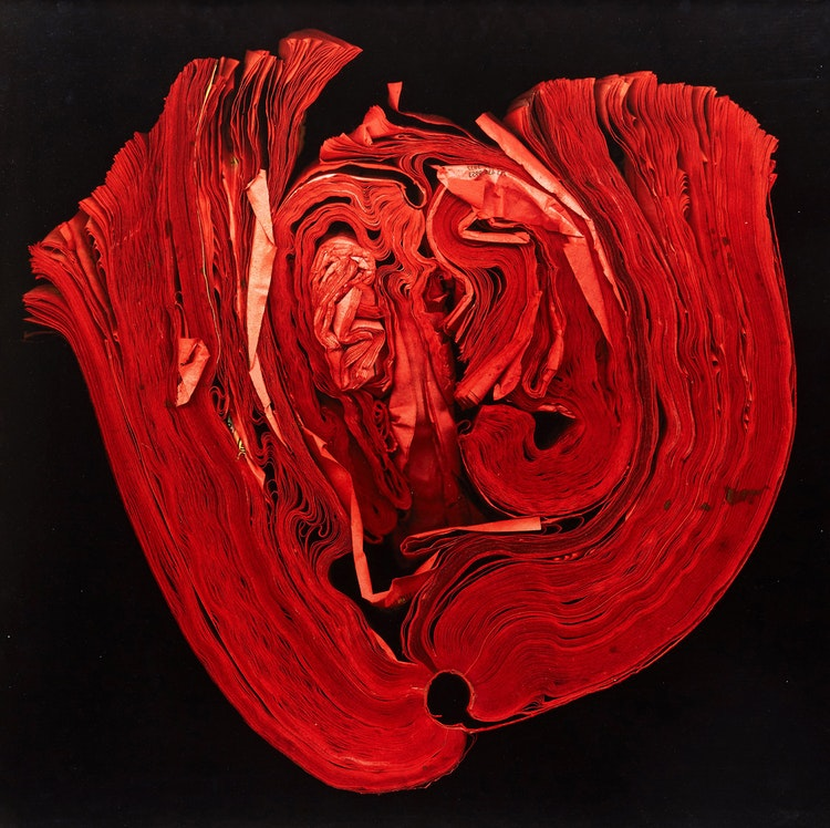 Artwork by Cara Barer,  Heart