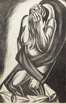 Artwork by Satish Gujral, Condemned
