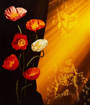 """Artwork by Frank Majore, Poppies (from the portfolio """"In A Dream: Photographers+Friends United Against Aids"""")"""