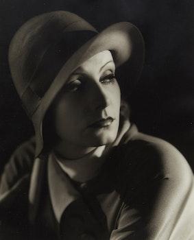 Artwork by Clarence Sinclair Bull, Greta Garbo (Inspiration, 1931)