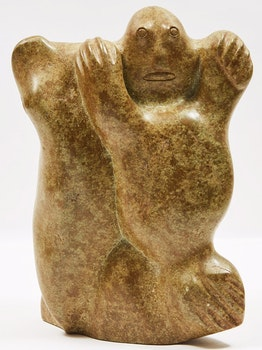 Artwork by  Unidentified Inuit Artist, Double-Sided Composition