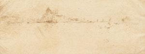 Artwork by James Abbott McNeill Whistler, Little Salute (Kennedy 220) (Second State)