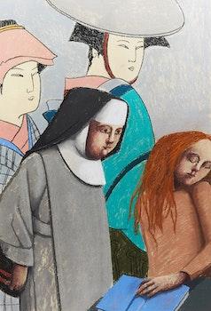Artwork by Louise Scott, Women