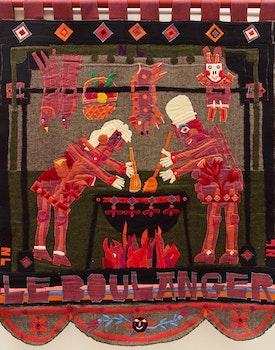 Artwork by Norman Laliberté, Le Boulanger