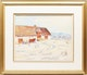Thumbnail of Artwork by George Paginton,  Barn in Winter (Sainte Famille, Île d'Orléans)