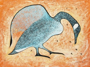 Artwork by Eddy Cobiness, Untitled (Goose)