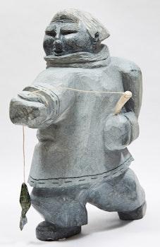 Artwork by Goole Paneak, Fisherman