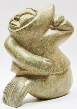 Artwork by  Unidentified Inuit Artist, Transforming Shaman