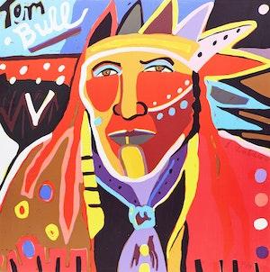 Artwork by George Littlechild, Tom Bull