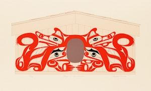 Artwork by Art Thompson, House of Wolves