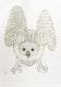 Thumbnail of Artwork by Kananginak Pootoogook,  Summer Owl