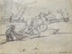 Thumbnail of Artwork by Arthur Dominique Rozaire,  Canadian Farmer with Horses and Plow