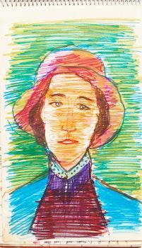 "Artwork by Marjorie (Jori) Smith, Sketchbooks & ""Jori Smith: A Celebration"""