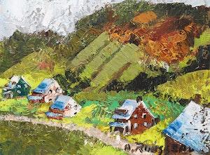 Artwork by Albert Rousseau, Charlevoix