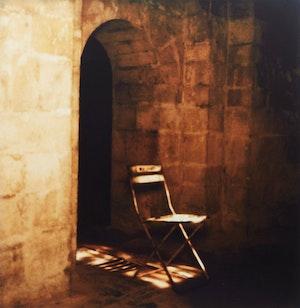 Artwork by Barbara Cole, Chair Study II