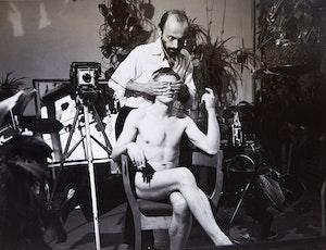 Artwork by Rodney Werden, Portrait of Jorge Zontal (with Rodney Werden)