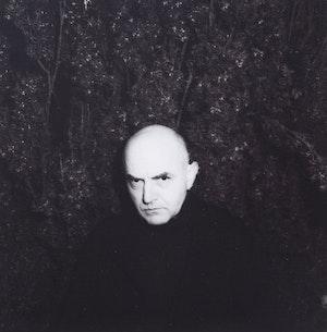 Artwork by Duane Michals, Self Portrait