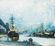 Thumbnail of Artwork by Marc-Aurèle Fortin,  Montreal, le Port