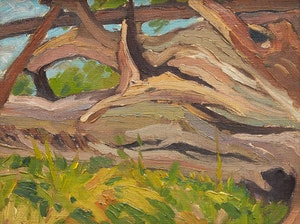 Artwork by George Henry Griffin, Trees