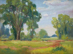 Artwork by George Henry Griffin, Summer Meadow