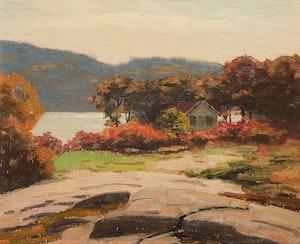 Artwork by George Thomson, Milford Bay